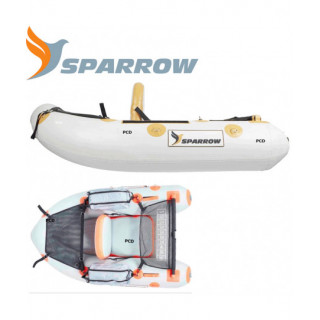 FLOAT TUBE SPARROW ATTACK...