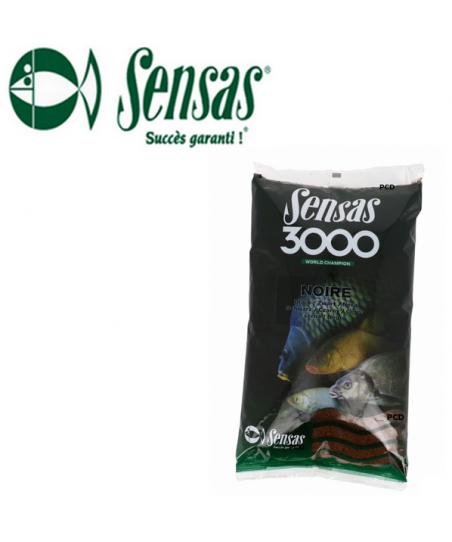 AMORCE SENSAS 3000 NOIRE 1KG