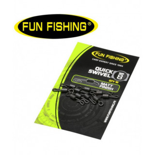 QUICK SWIVEL FUN FISHING...