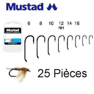 HAMECONS MOUCHES MUSTAD R72...