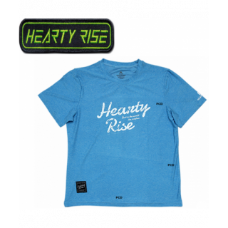 T-SHIRT HEARTY RISE MANCHES...