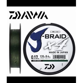 TRESSE DAIWA J-BRAID X4...