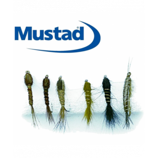 KIT 6 MOUCHES MUSTAD...