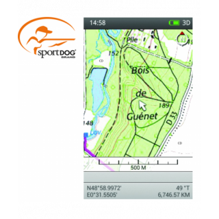 CARTE TOPOGRAPHIQUE GPS TEK...