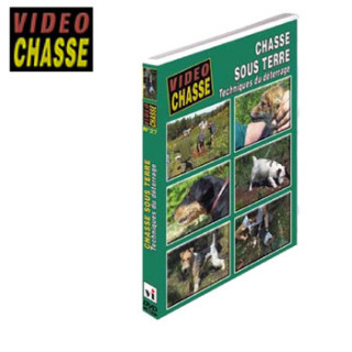 DVD CHASSE SOUS TERRE VIDEOTEL
