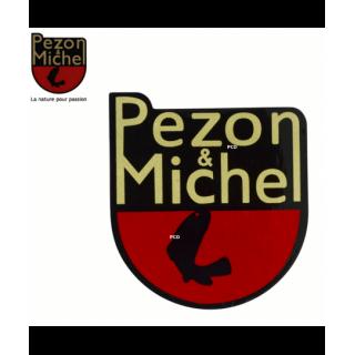 AUTOCOLLANT BLASON PEZON &...