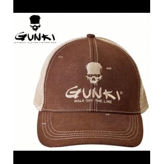 CASQUETTE GUNKI TRUCKER BROWN
