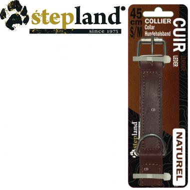 COLLIER STEPLAND EN CUIR DE...