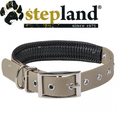 COLLIER STEPLAND DOUBLE TAUPE