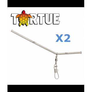 ANTI-TANGLE METAL TORTUE PAR 2