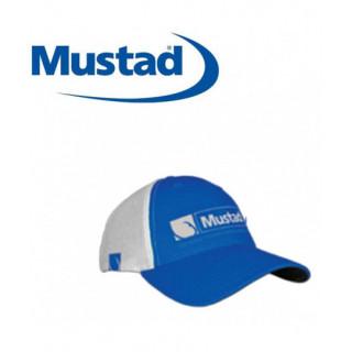 CASQUETTE MUSTAD TRUCKER BLEUE