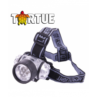LAMPE FRONTALE TORTUE 7 LEDS