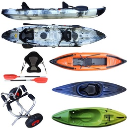 Kayaks, canoës et Stand Up Paddle
