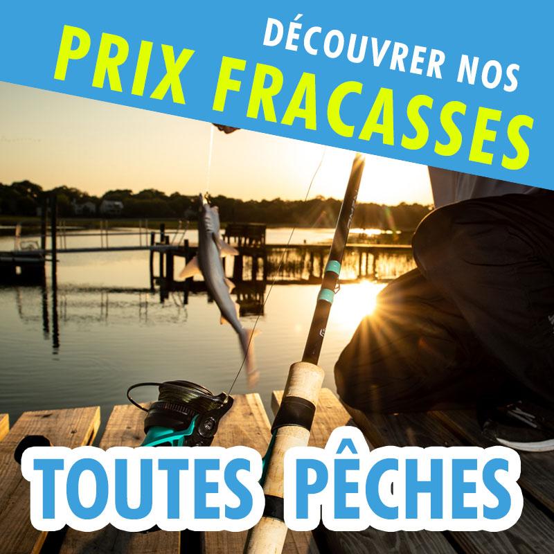Prix Fracassés TOUTES PECHES