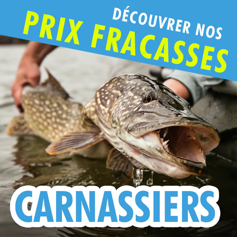 Prix Fracassés CARNASSIERS