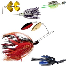 Spinnerbaits, Chatterbaits et Buzzerbaits