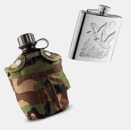 Thermos, flasques et casse-croûte